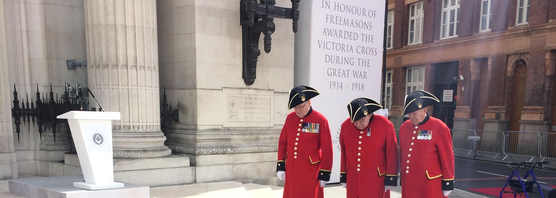 Freemasons Awarded Victoria Cross