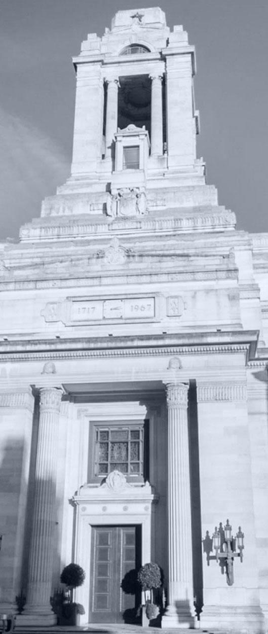 Entrance to Freemasons Hall
